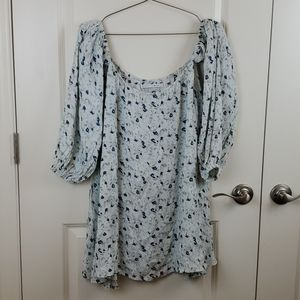 Faithful the brand  off the shoulder blouse size s